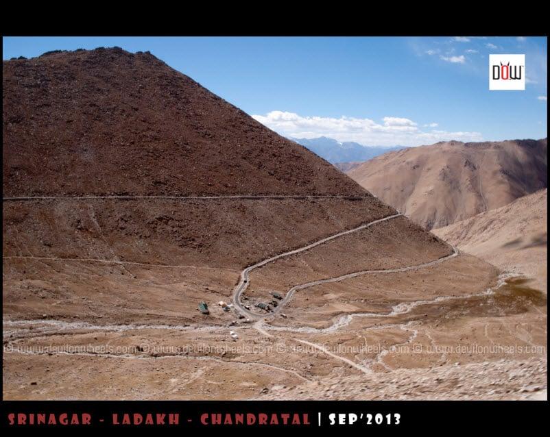 Famous Zs of Zingrail while ascending Chang La
