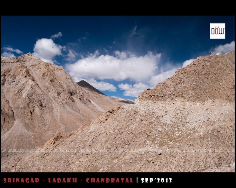 Nearing Chang La Pass