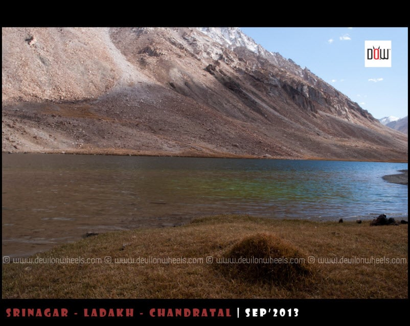 Tso Tak Lake near Chang La Pass