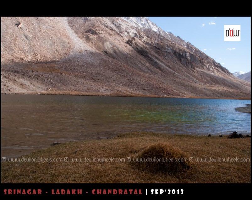 Tso Tak Lake near Chang La Pass