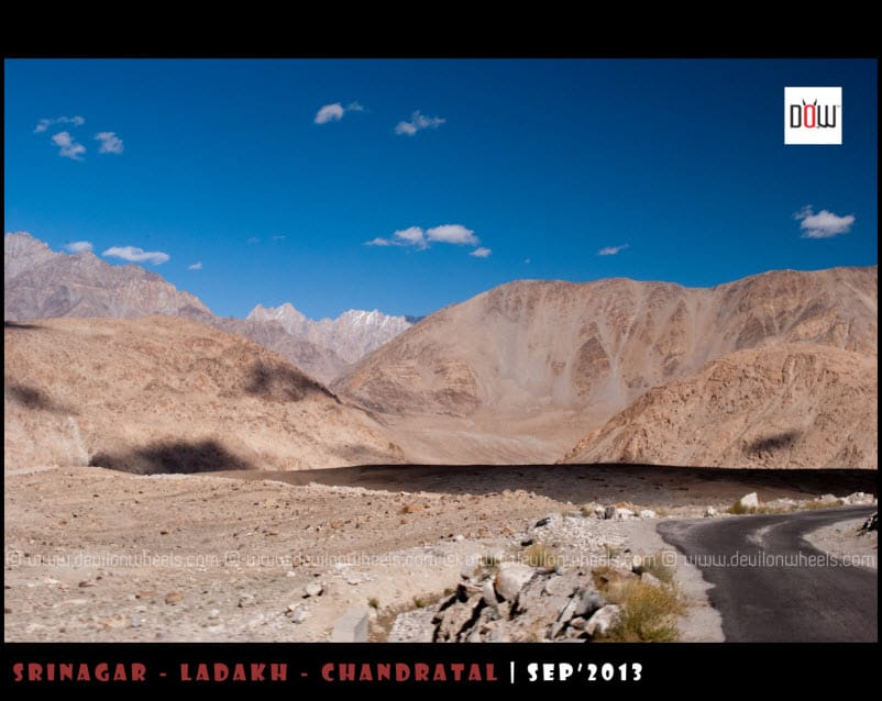Colors of Changthang while going to Pangong Tso