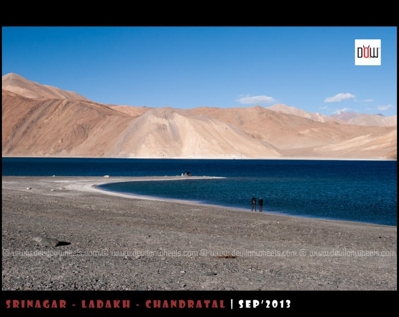 The Lovely Blue Hues of Pangong Tso