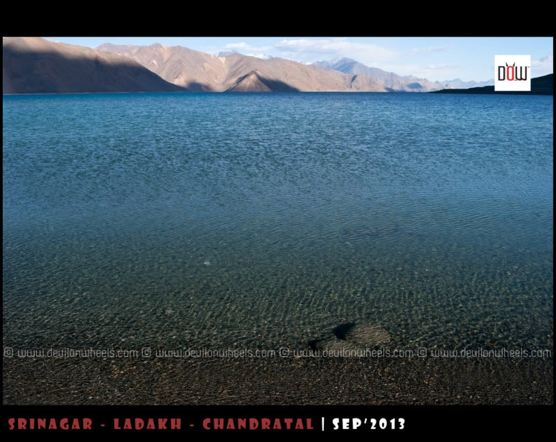 Blue Hues of Pangong Tso Lake
