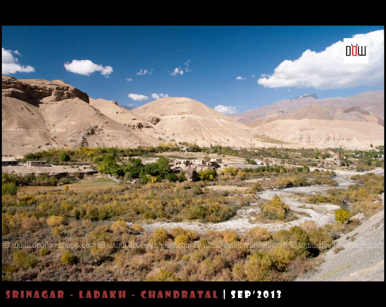 Multiple Shades of Srinagar - Leh Highway