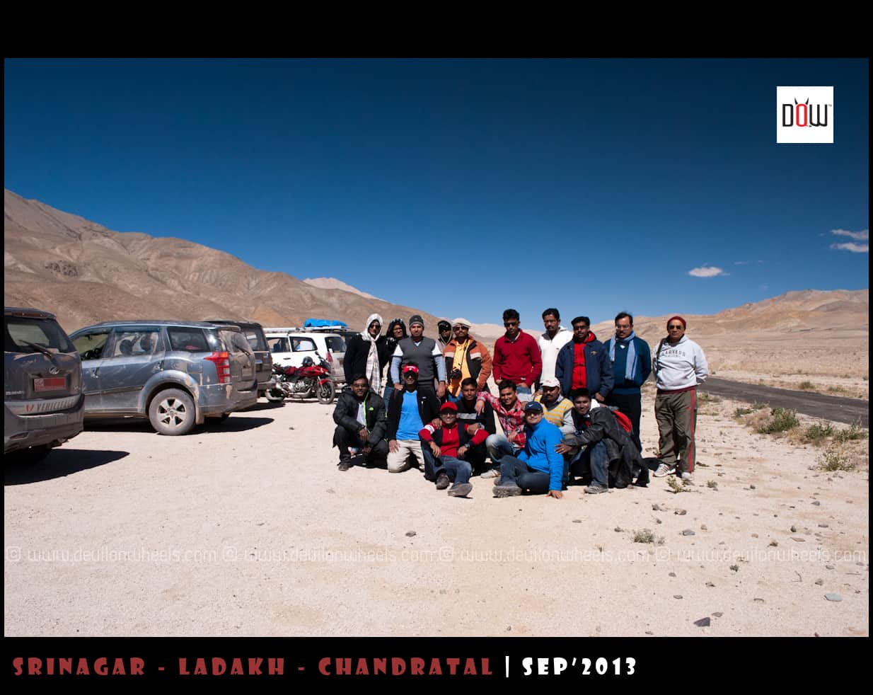 DoW Ladakh Mega Meet... The Happy go Lucky Souls