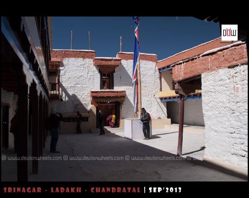 Inside Complex of Hanle Monastery