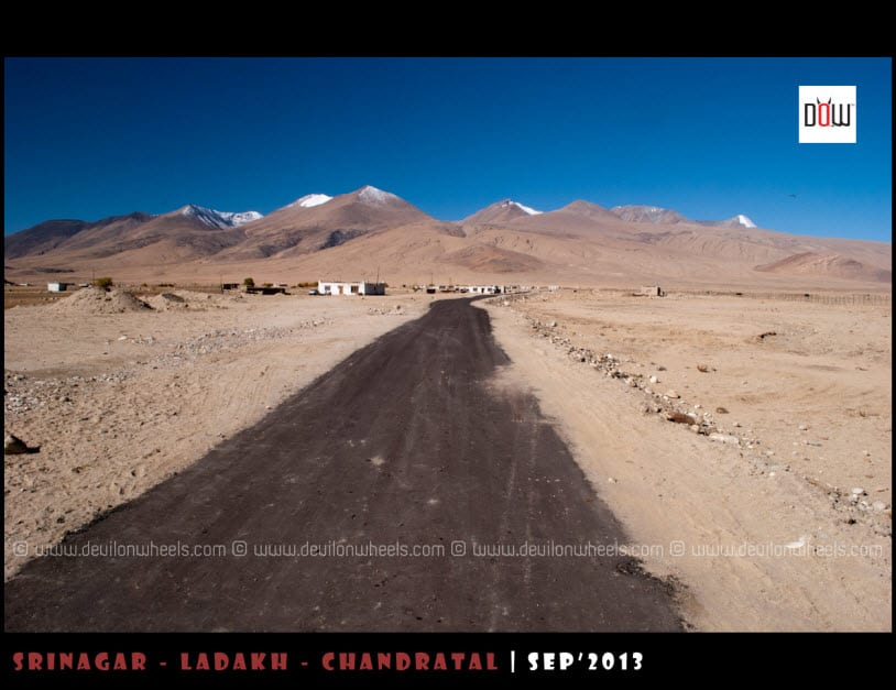 Leading you into Forbidden Terrain, Hanle to Nidar