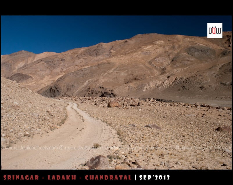 Yeah, thats the road for Kyon Tso from Hanle