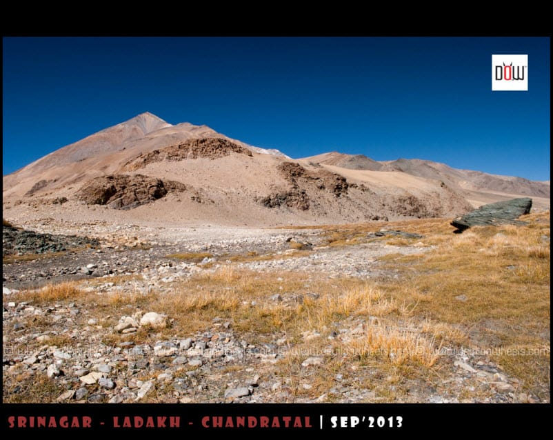 The Multi Colored Vistas on the route to Kyon Tso from Hanle