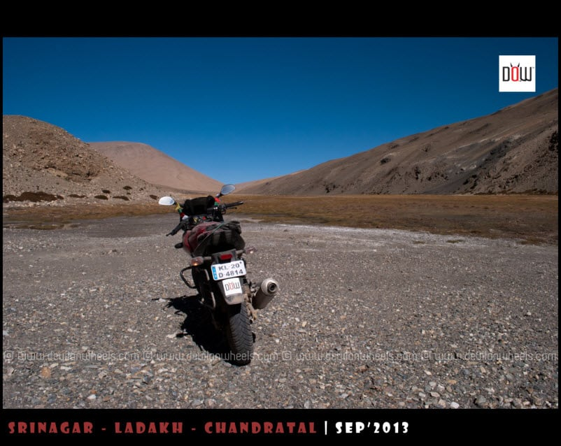 DoW, in the middle of nowhere in Changthang