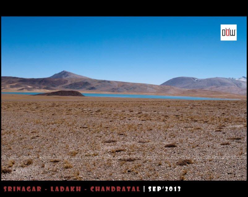 A Distant View of Kyon Tso 2 - Chiling Tso Lake