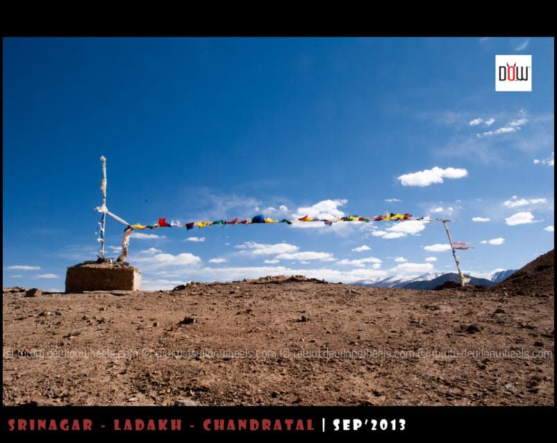 Nurpa La or Thato La at an altitude of 4815 Mtrs near Yaye Tso