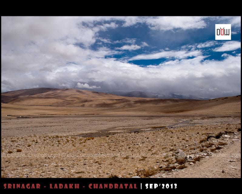 Dramatic Landscape near Tso Moriri Lake