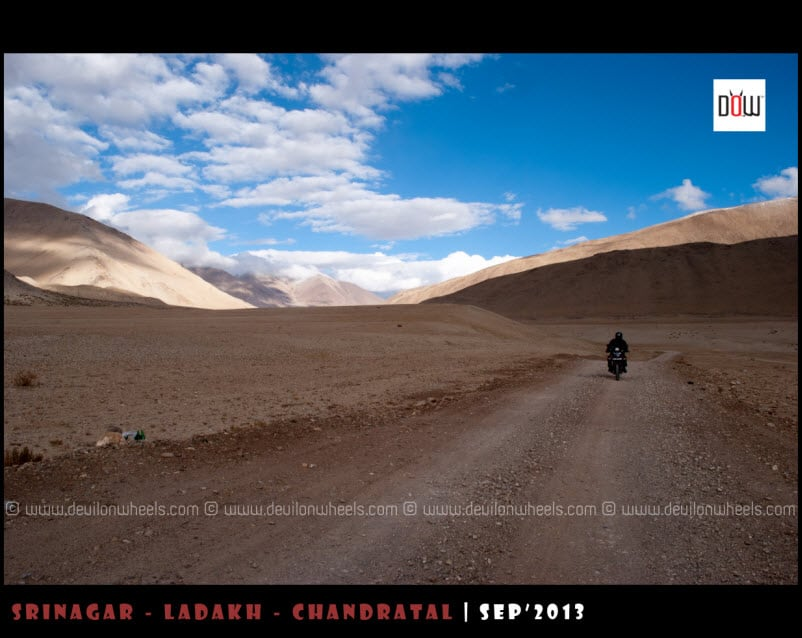 A Lone Ride to Tso Kar Lake