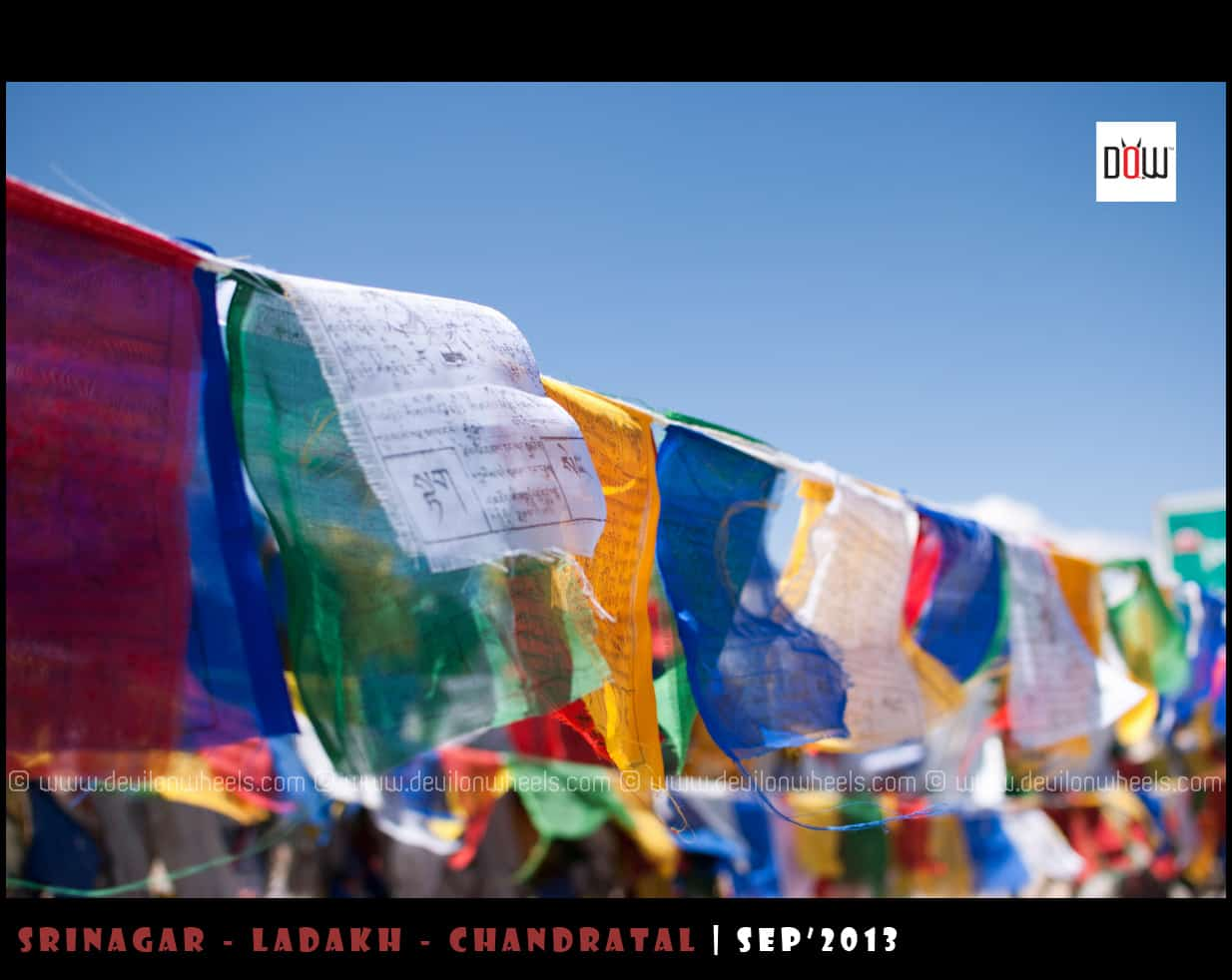 Prayer Flags at Passes... Showering Blessings with the Wind