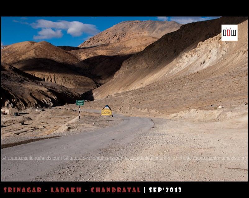 The Majestic Views on Manali - Leh Highway near Pang