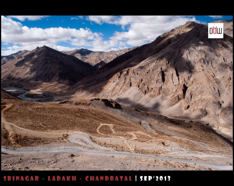 Gata Loops on Manali - Leh Highway
