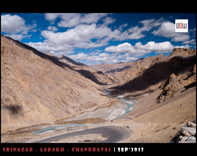 The High Views of Manali - Leh Highway