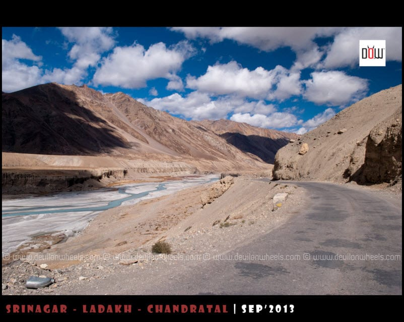 The Majestic Views on Manali - Leh Highway near Sarchu