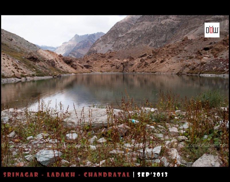 Deepak Tal on Manali - Leh Highway