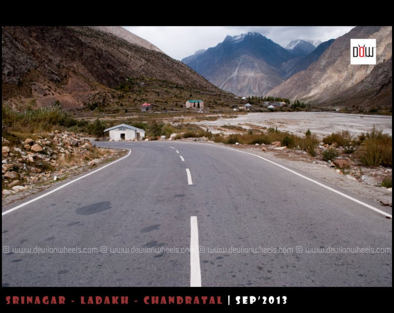 The ever Beautiful Jispa on Manali - Leh Highway