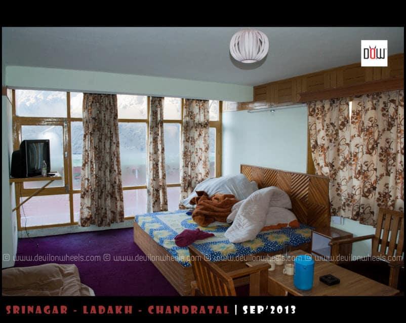 Rooms at Hotel Triveni Sissu
