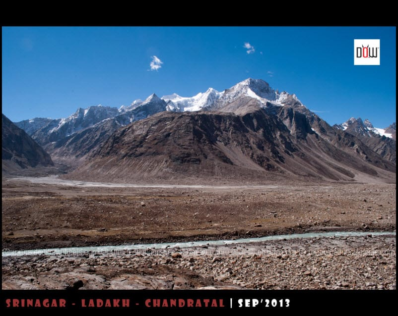 Glaciers on the way to Chandratal