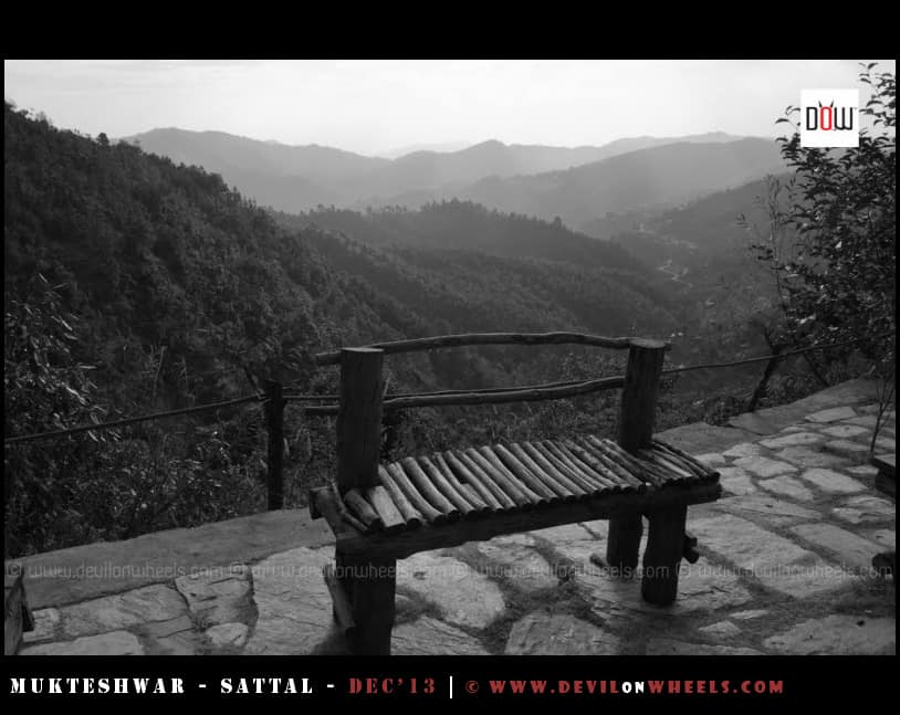 View of the Valley from Oak Chalet Resort - Mukteshwar