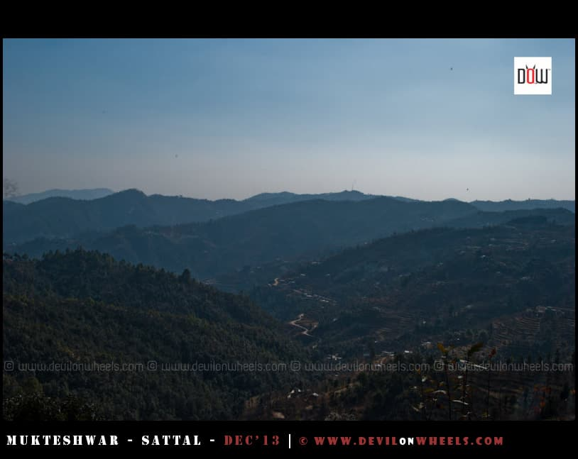 Views of the Valley from Oak Chalet Resort - Mukteshwar