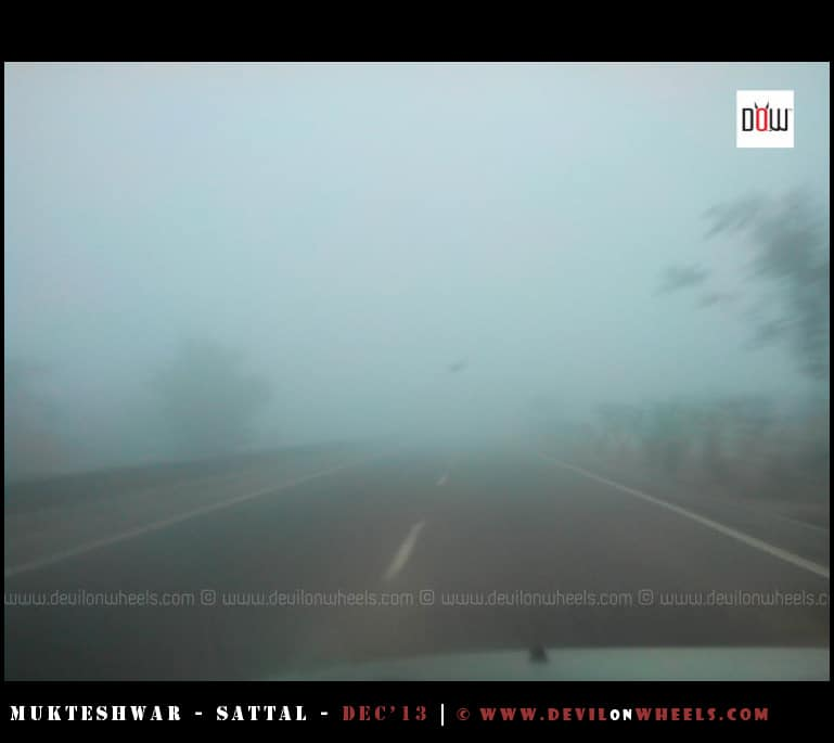 Fog Conditions on NH24