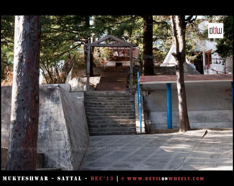 The Mukteshwar Temple