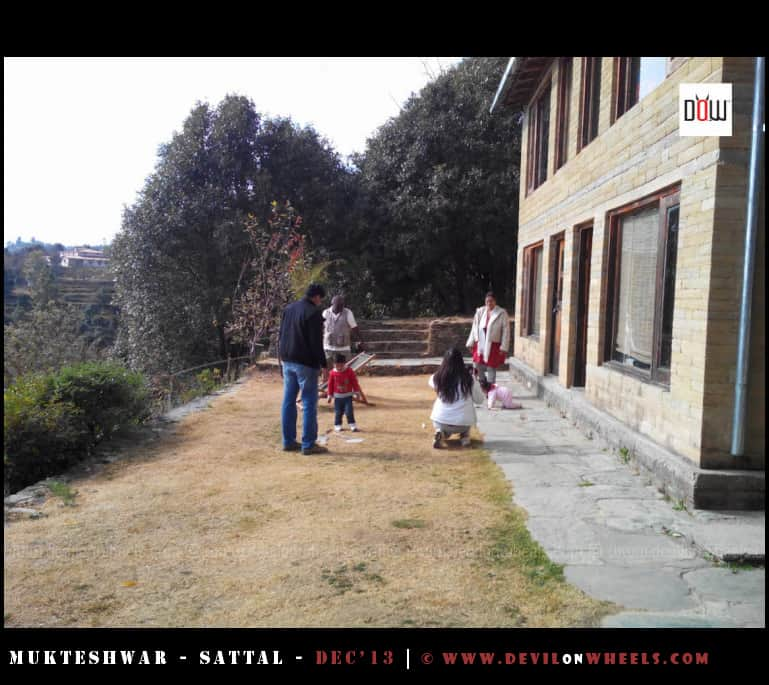 Everyone Enjoying at Oak Chalet Resort - Mukteshwar