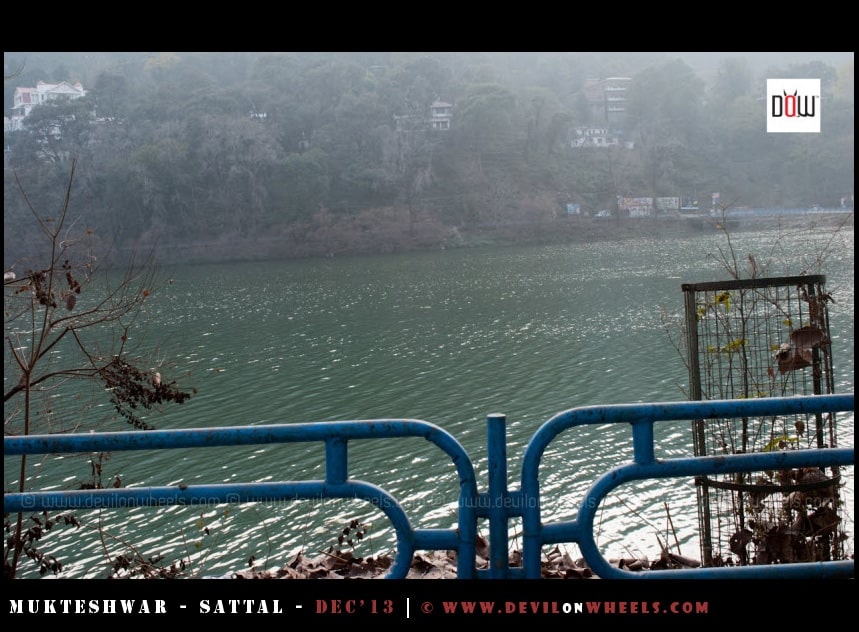 Bhimtal, as captured on the go