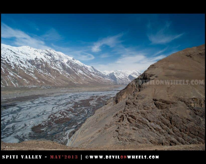 An Aerieal view beyond Rangrik