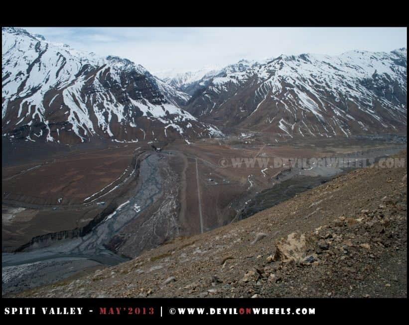 That's Road to Rangrik Village, just ahead of Kaza
