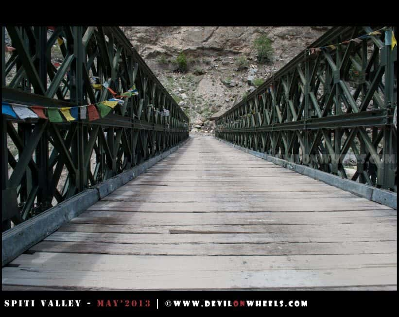 A Bridge in Kinnaur Valley
