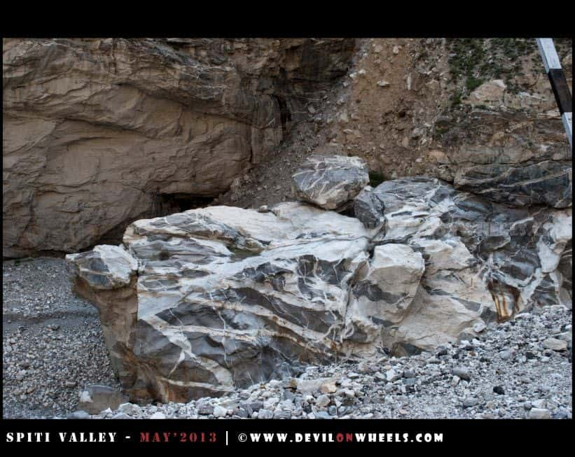 A Turtle Shaped Rock near Khab Bridge