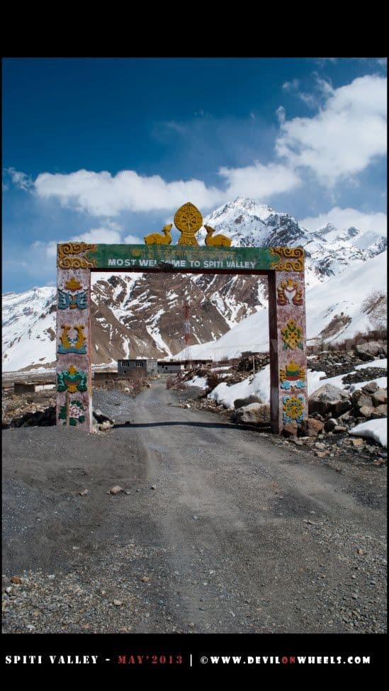 Welcome to Spiti Valley