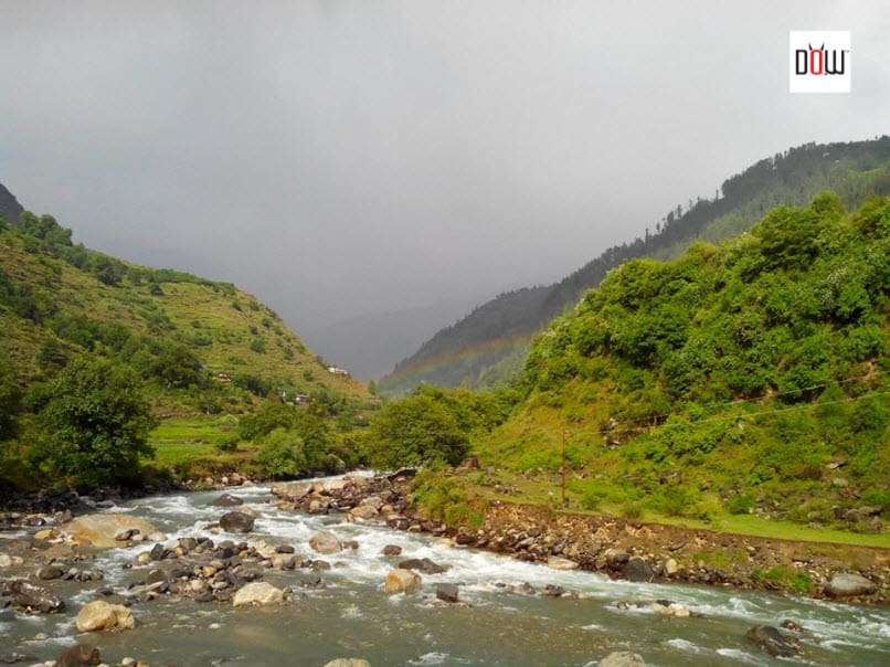 Lucky to Spot this Rainbow in Pabbar Valley while coming down from Chansal Pass