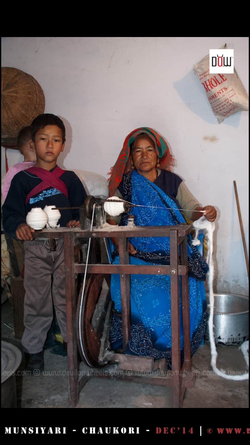 Prema ji, continuing the old heritage of Darkot Village