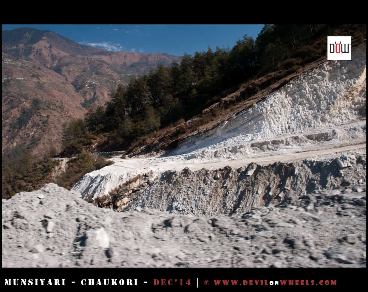 Road conditions between Munsiyari - Madkote - Jaulijibi