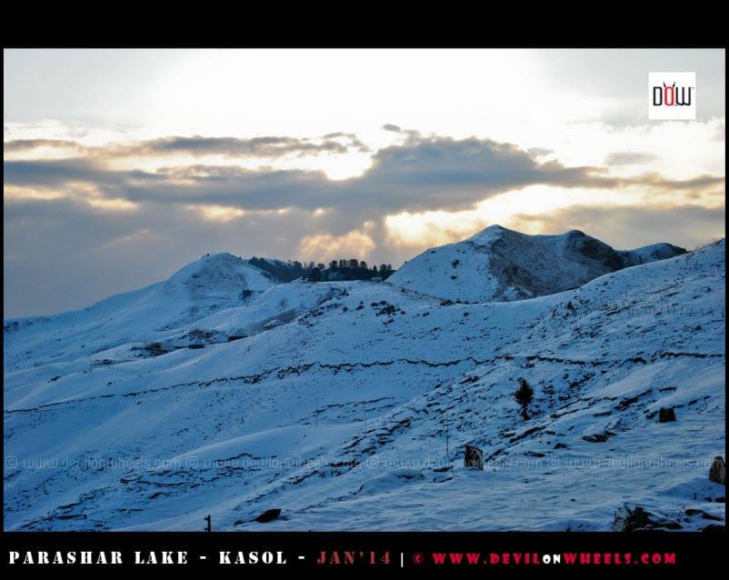 The Early Morning at Prashar Lake
