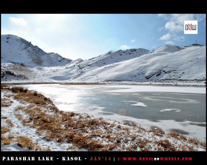 The Much Closer Views - Prashar Lake