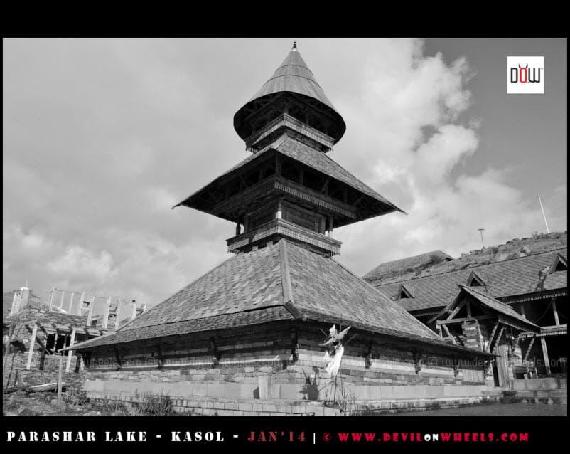 Three Story Pagoda Temple of Prashar Rishi