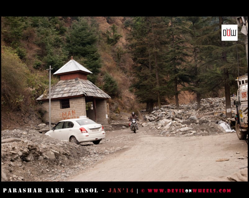The Devil's Machine - Parked Safely at Baggi Village