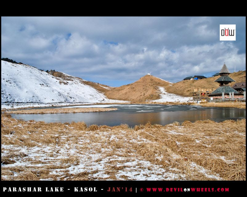 Prashar Lake - A Different View