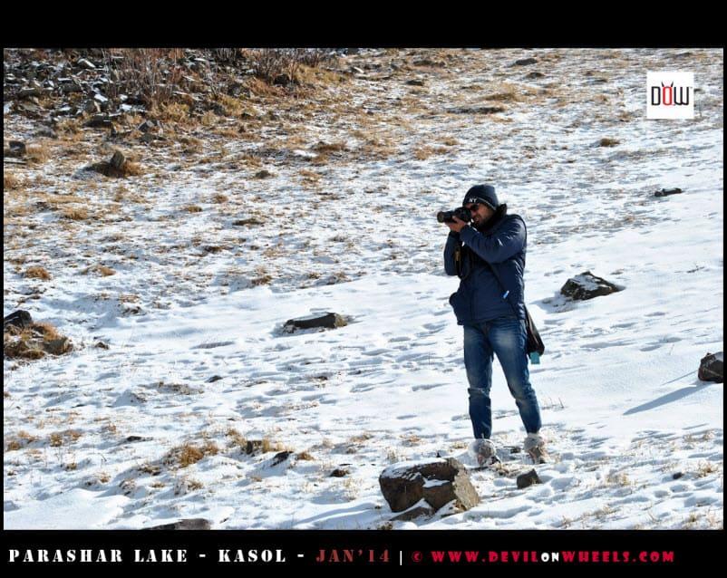 Aashish Shooting the Jewel