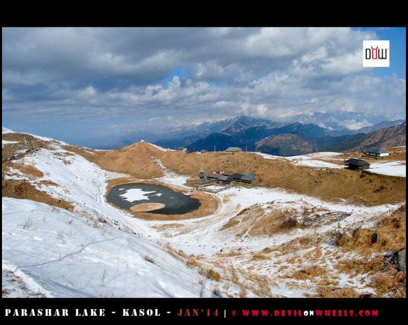 Another Aerial View of Prashar Lake