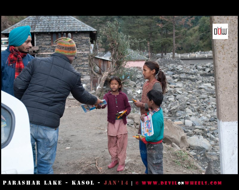 DoW Causes - Spreading Smiles near Prashar Lake