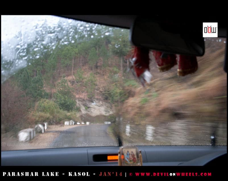 Rains, Hailstorm, Snow - All on the way to Kasol